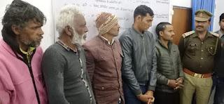 पुलिस अधीक्षक जालौन डॉ0 सतीश कुमार के कुशल निर्देशन में स्पेशल ऑपरेशन  Special operation under the efficient direction of Superintendent of Police Jalaun Dr. Satish Kumar