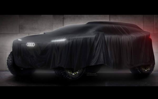 Audi vai competir no Rally Dakar com carro elétrico
