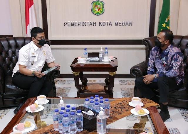 Bertemu Bupati Aceh Timur, Bobby Berbagi Informasi Tentang Wisata Kuliner