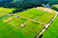 Разделение земли и объектов основных средств