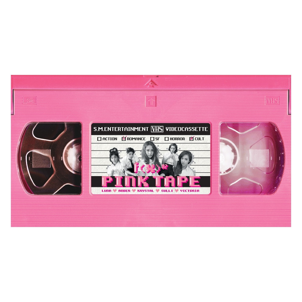 f(x) – `Pink Tape` f(x) The 2nd Album (FLAC + ITUNES PLUS AAC M4A)