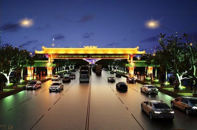 Thuyết minh phương án thiết kế cổng chào phía bắc Thừa Thiên Huế