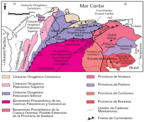 Distribución de Terrenos Alóctonos