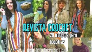 Revista Crochet: 20 modelos para nosotras