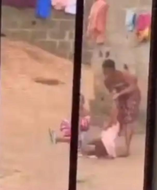 Woman filmed brutally assaulting her child (video)