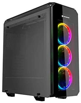 Review Cougar Puritas RGB CGR-5GMUB-RGB PC Gaming Case