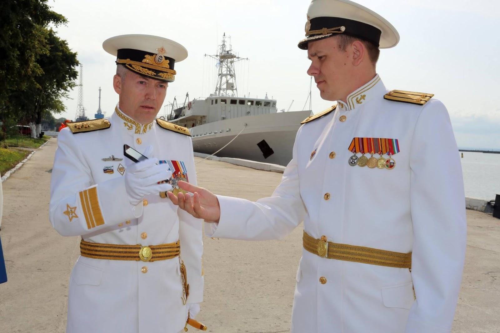 форма моряков военно морского флота россии