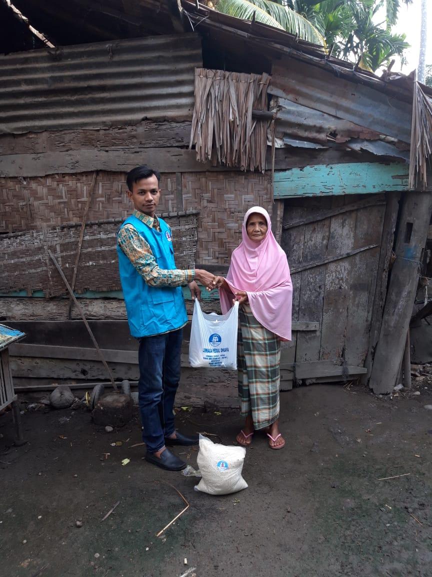 Lembaga Peduli Dhuafa salurkan paket sembako program Ramadhan Peduli, Kepada Mustahiq