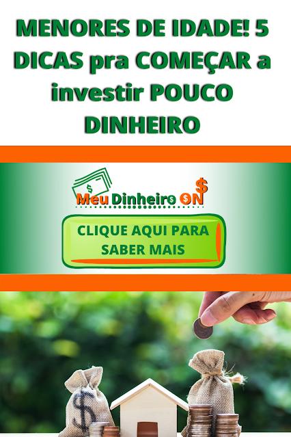 COMEÇAR a investir POUCO DINHEIRO