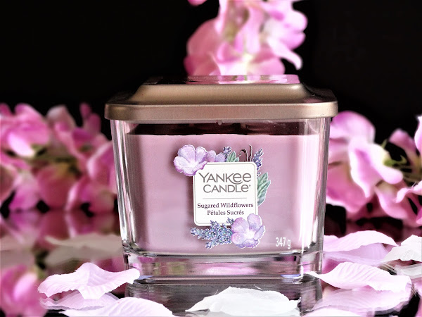 YANKEE CANDLE | SUGARED WILDFLOWERS - ELEVATION COLLECTION
