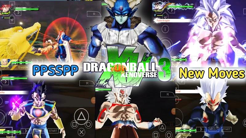New Dragon Ball Xenoverse 3 + Menu PSP Android
