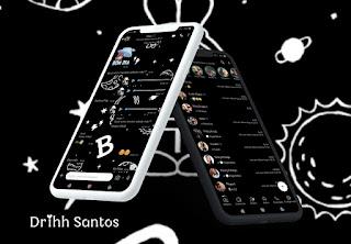 Black B Theme For YOWhatsApp & Fouad WhatsApp By Driih Santos