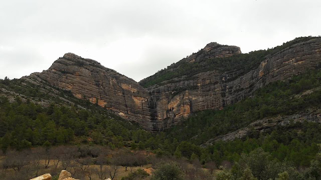 Roca de migia, salto de agua