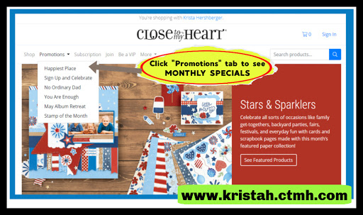 Make sure to check out the ENTIRE COLLECTION of monthly specials each and every month!!
