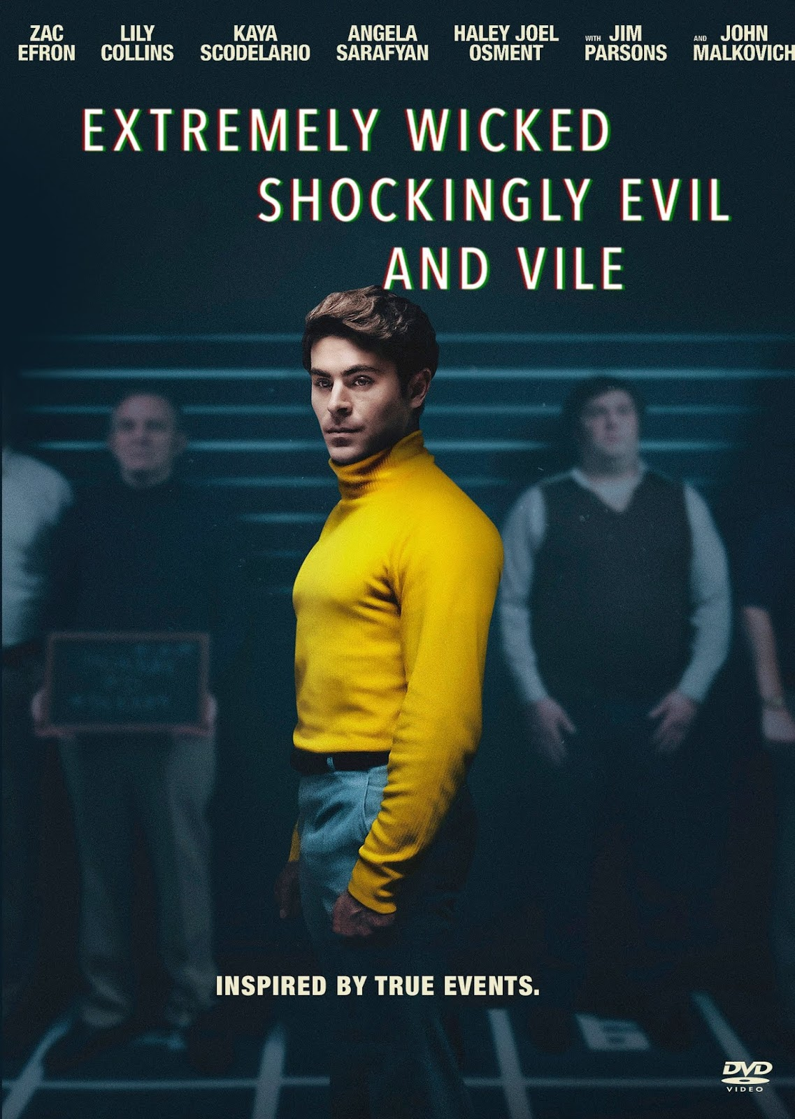 Extremely Wicked, Shockingly Evil and Vile [2019] [DVD R4] [NTSC] [Latino]