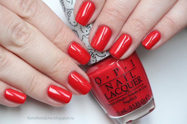 OPI Hello Kitty весна 2016
