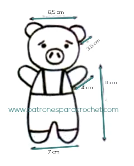 medidas-cerdo-crochet