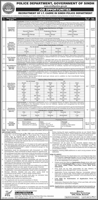 sindh-police-jobs-2020