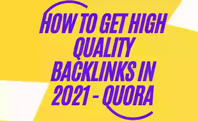 How To Get High Quality Backlinks In 2021 - Quora