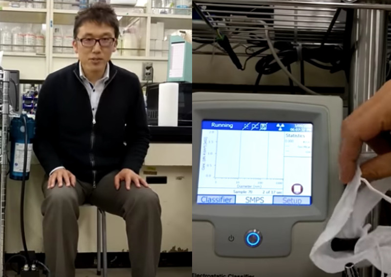 Surgical mask, paper towel mask or cloth mask? Japanese professor tests which is most effective against Covid-19, posted on Monday, 13 April 2020