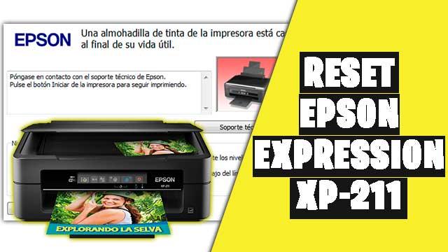 resetear impresora EPSON Expression XP-211