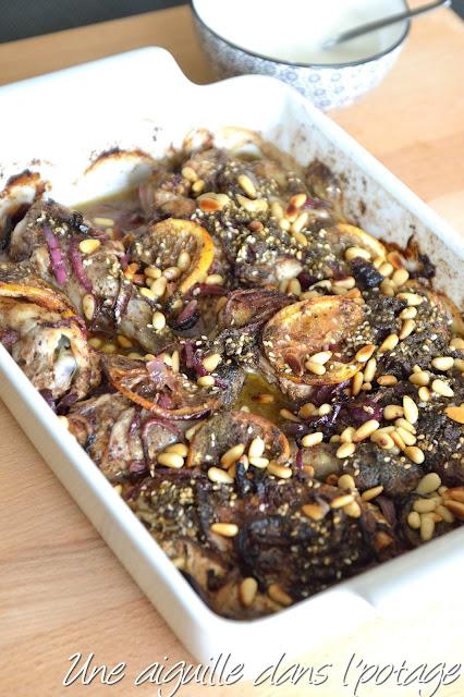 Poulet rôti au sumac, zaatar et citron Yotam Ottolenghi