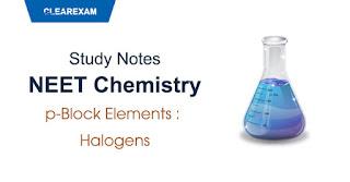 p-Block Elements - Halogens