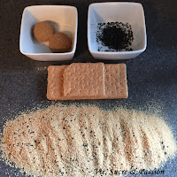 How to make edible sand for cake