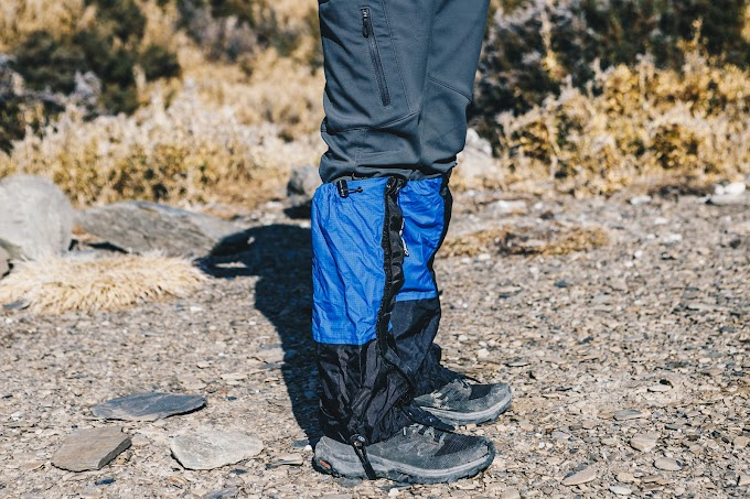【野女孩裝備】登山雨天必備綁腿 ! 表格教你該挑選!  ISUKA輕量GORE-TEX綁腿