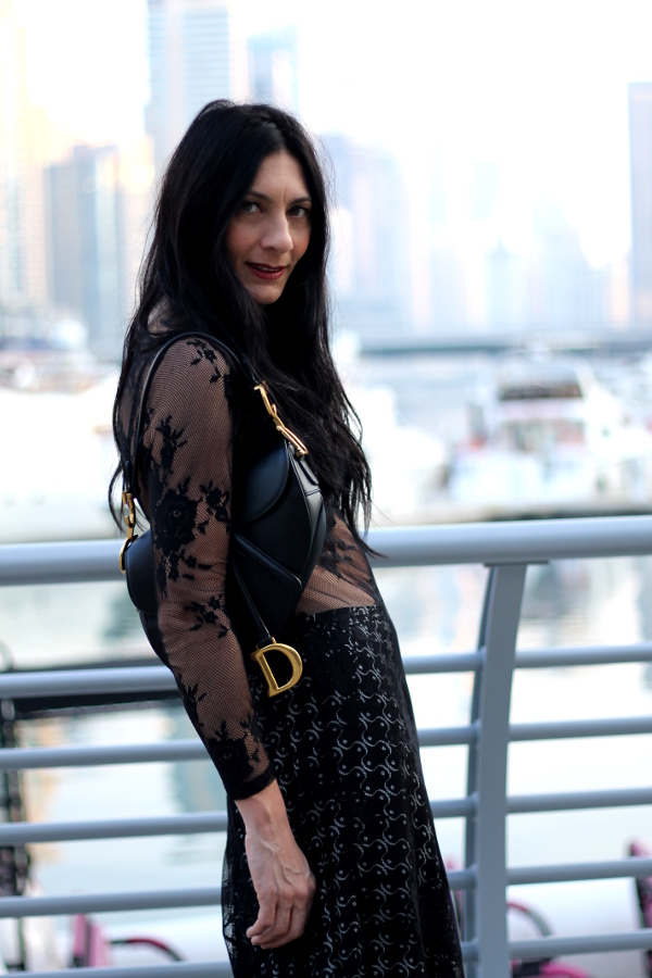 paola buonacara, abito, dress, skirt, gonna, chiara is, designer, stilista, fashionblogger, influencer, influencer italiana, ideas outfit, fashionblogger, fashion blogger italiana, outfit, look, vestito trasparente, gonna a ruota, borsa dior, dior, chiara gregis