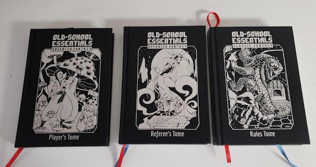 Old-School Essentials Kickstarter Books