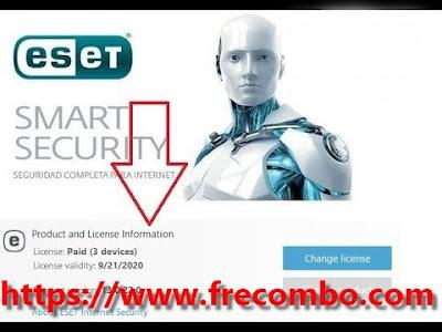 Esat Smart -Internet security-Nod32 Antivirus 2020 KEYS