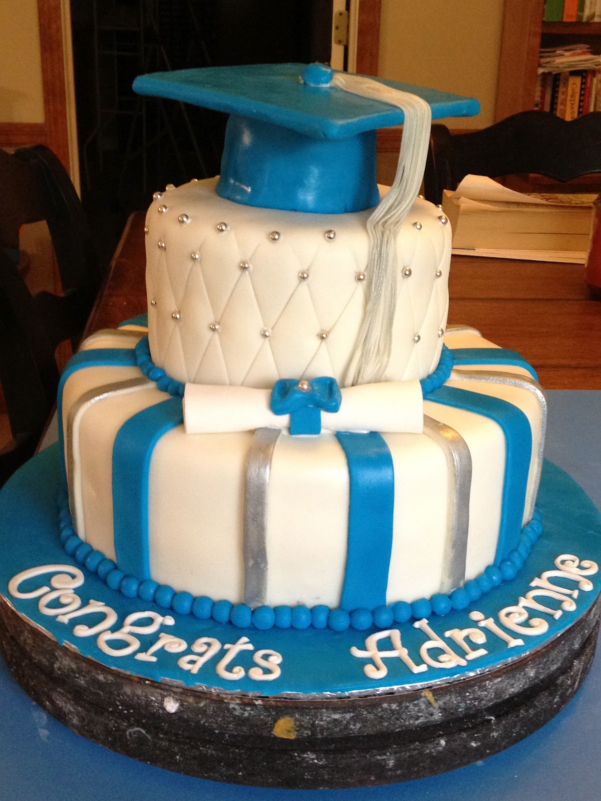 Learning To Fly Cakes And Pastries Graduation Cake