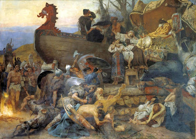 Funeral vikingo - Wikipedia -