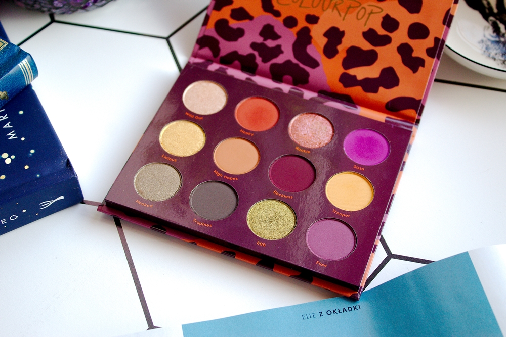 Monday Post | Colourpop, Good Sport - idealna paleta na jesień?