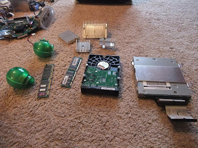 useable parts from and iMac G3 computer