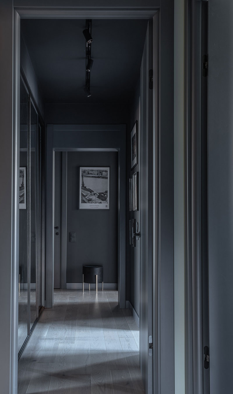 ilaria fatone - un couloir en gris anthracite