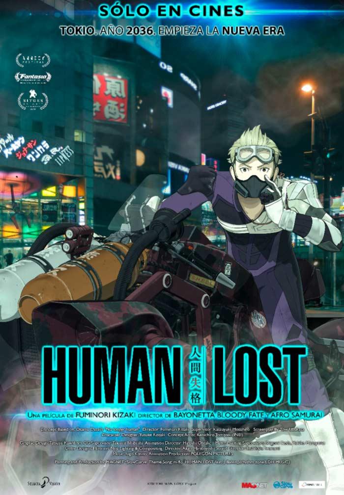 Human Lost anime film (Fuminori Kizaki) - Selecta Visión - poster