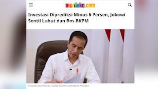 Target Meleset, Haris Rusly Moti: Maksud Investasi Jokowi Itu Apa, Eksploitasi SDA?