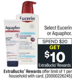 Free Eucerin Calming Lotion at CVS 1/3-1/9