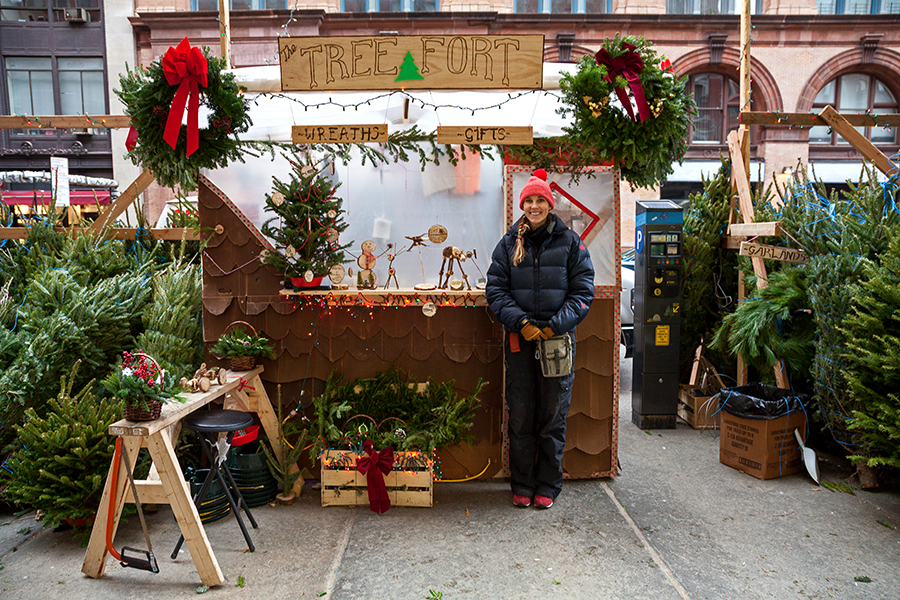 James and Karla Murray Photography: Jessie, Christmas Tree Vendor ...