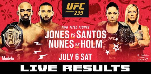 UFC 239 poster