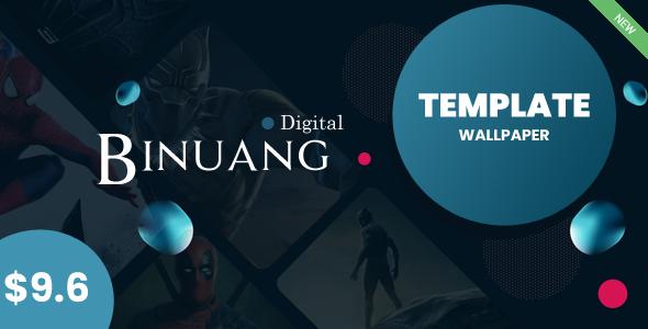 Binuang Digital - Blogger Template for Blog Download