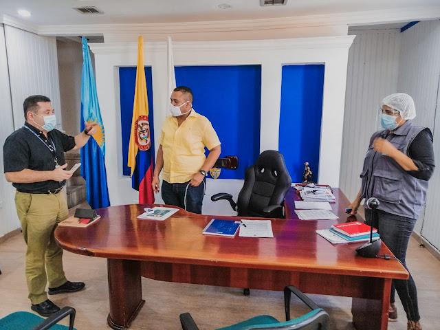En Riohacha buscan recursos de regalías para luchar contra el Covid-19