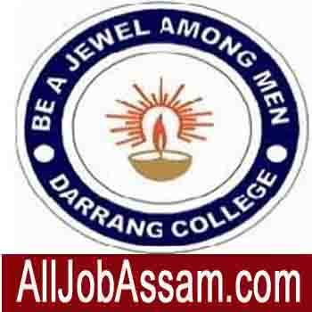 Darrang College Tezpur Recruitment 2020