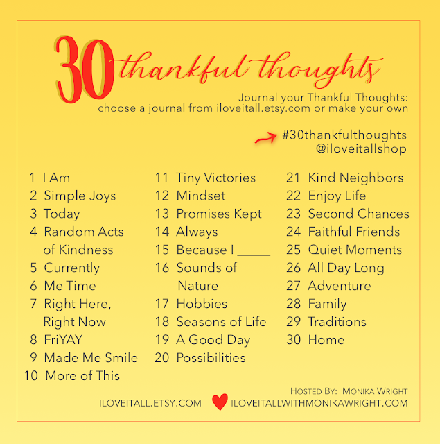 #30thankfulthoughts #30 Thankful Thoughts #thankfulness #gratitude #list prompts #Journal prompts #thankful thoughts #grateful moments