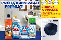 """Concorso """"Vinci una lavasciuga con SC Johnson"""" : 8 premi del valore di 999 euro ciascuno"""