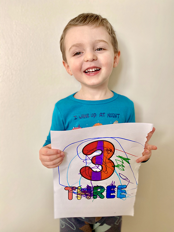 Ellis - Three Years Old | My Darling Days