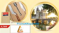 Logo Con Rigoni e President vinci 90 set Lamami, vacanza ai Castelli della Loira + buono sconto