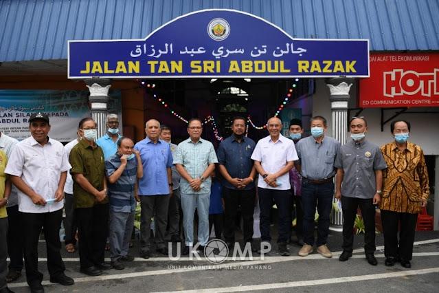 Kerajaan Pahang Mengumumkan Untuk Menukar Beberapa Nama Tempat Di Seluruh Negeri Pahang